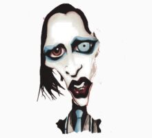 Marilyn Manson Caricature by cecko90