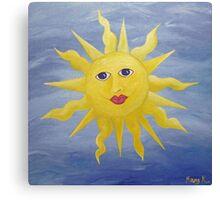 Whimsical Sun Canvas Print
