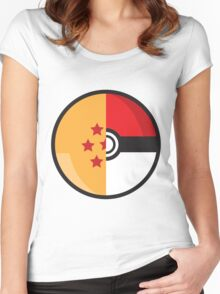 PokeDragonBall Women's Fitted Scoop T-Shirt