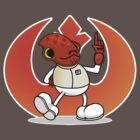 Vintage Admiral Ackbar by Optimapress