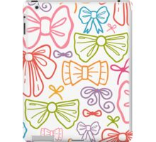 Colorful bows pattern iPad Case/Skin