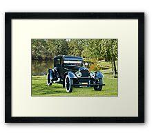 1921 Duesenberg A Bender Coupe III Framed Print