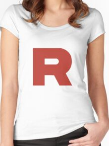 Team Rocket Women's Fitted Scoop T-Shirt