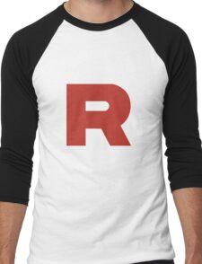 Team Rocket Men's Baseball ¾ T-Shirt