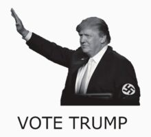 Nazi Trump by petie-emmo