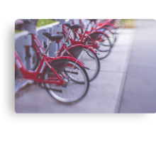 Red Rides Canvas Print