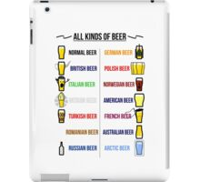 Stereotypical Beer iPad Case/Skin