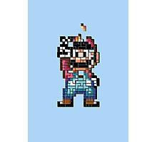 Mario victory tetris Photographic Print