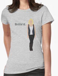 """Britta'd"" Womens Fitted T-Shirt"