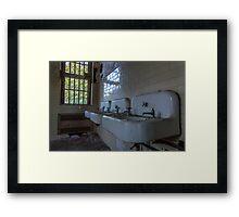 ...sinks of dreams... Framed Print
