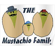 The Italian Mustachio Family Poster