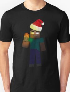 Minecraft: Christmas Herobrine Unisex T-Shirt