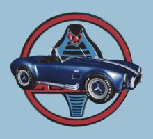 Shelby Cobra with Cobra (t-shirt) by Walter Colvin