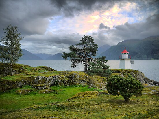 The Sognefjord Light (1) by Larry Lingard-Davis