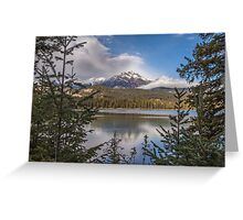 Lake Annette Canada Greeting Card