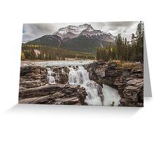 Athabasca Falls - Canada Greeting Card