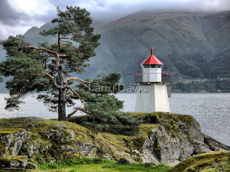 The Sognefjord Light (2) by Larry Lingard-Davis
