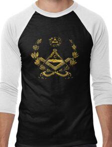 Seal of masonry Men's Baseball ¾ T-Shirt