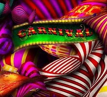 Abstract - Carnival by Mike  Savad