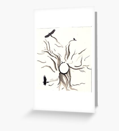 flight from home Greeting Card