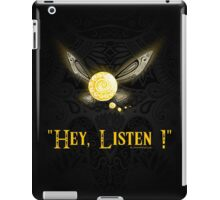 Hey Listen ! iPad Case/Skin