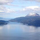 The Beagle Channel Aerial by Carole-Anne