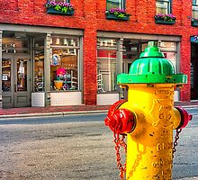 Where's The Fire? - Asheville, North Carolina by Mark Tisdale