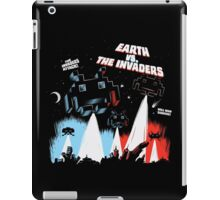Earth vs. The Invaders iPad Case/Skin