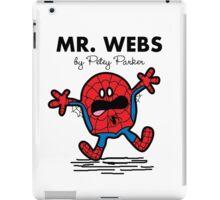 Mr Webs iPad Case/Skin