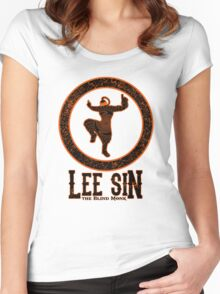 Lee Sin, the Blind Monk Women's Fitted Scoop T-Shirt