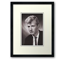 Does anyone recognise this film star ?  Ho, it's Me....! Framed Print