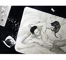 Paw Prints Photographic Print