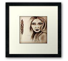 Olivia (Elf Army) Framed Print