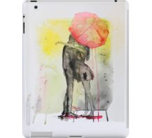 Pink Rain iPad Case/Skin