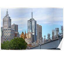 Sandridge Bridge, Melbourne Poster