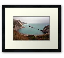 Man O' War Beach Framed Print