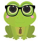 Frog Nerd by Adamzworld