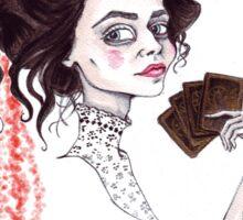 Vanessa the Medium Sticker