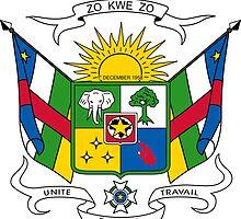 Emblem of Central African Republic by abbeyz71