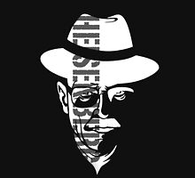 Heisenberg Breaking Bad (White on black) Unisex T-Shirt