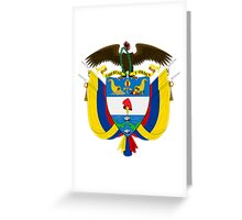 Columbia Coat of Arms  Greeting Card