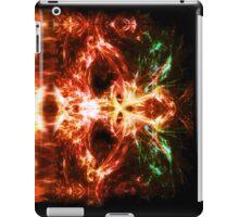 Fractal Flame Skull iPad Case/Skin