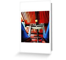 Station of Colors Greeting Card