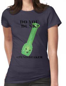 PENIS BEAKER Womens Fitted T-Shirt