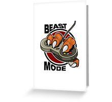 beast mode  Greeting Card