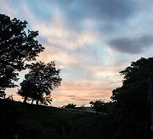 Sunset over Wythop Mill by The Duke of  Medway