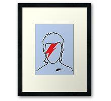 David Bowie - Aladdin Sane Framed Print