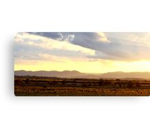 Sunset over the Lowlands Canvas Print