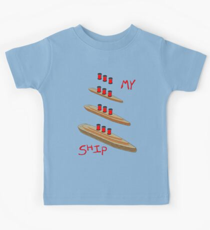 My Ship kit of parts T-shirt Kids Tee