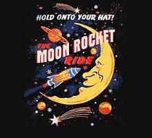 Rocket Moon Ride (vintage) Unisex T-Shirt